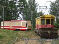 Тверь. 71-134А (ЛМ-99АЭНМ) №171, ГС-4 (КРТТЗ) №401