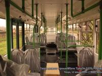 Тверь. Салон нового троллейбуса ТролЗа-5275 Оптима