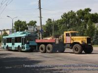 Тверь. Транспортировка троллейбуса ТролЗа-5275 Оптима
