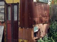 Тверь. Дачный домик из троллейбуса ЗиУ-682Б в Семеновском