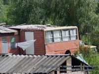 Тверь. Дачный домик из прицепа автобуса Ikarus 280 в Семеновском