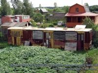 Тверь. Дачные домики из троллейбуса ЗиУ-682Б и прицепа автобуса Ikarus 280 в Семеновском