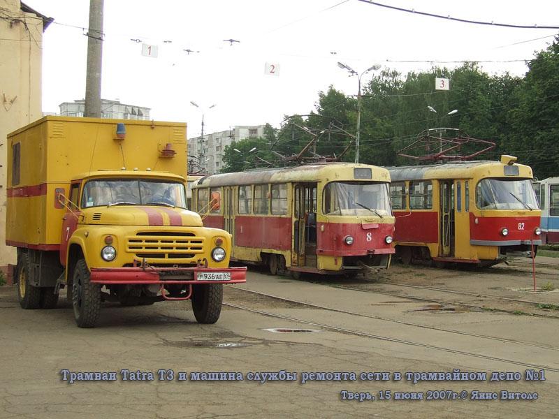 Тверь. Tatra T3 №8, Tatra T3 №82