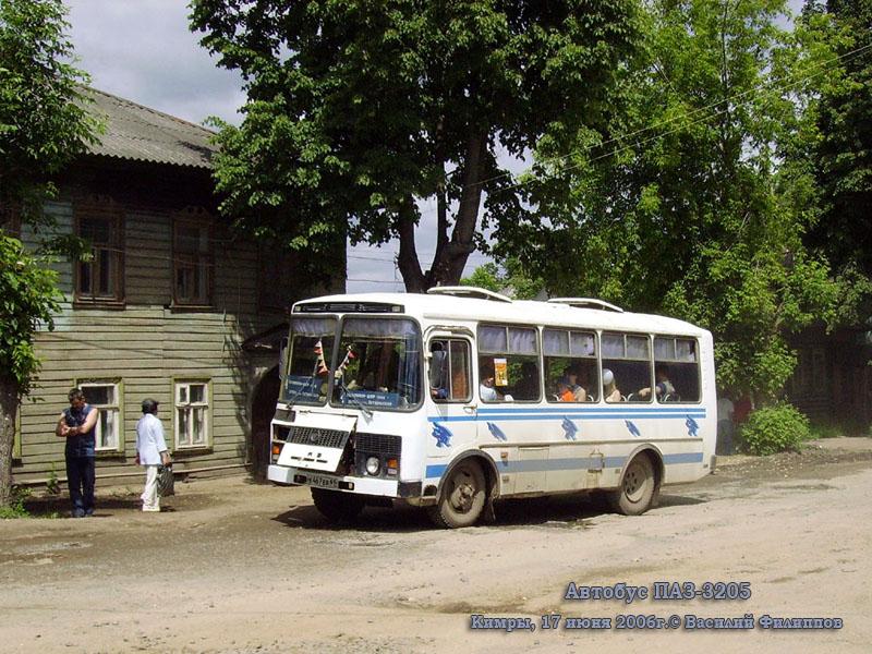 Тверская область. ПАЗ-3205 к467ев