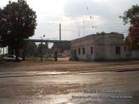 Ульяновск. Въезд в Северное депо