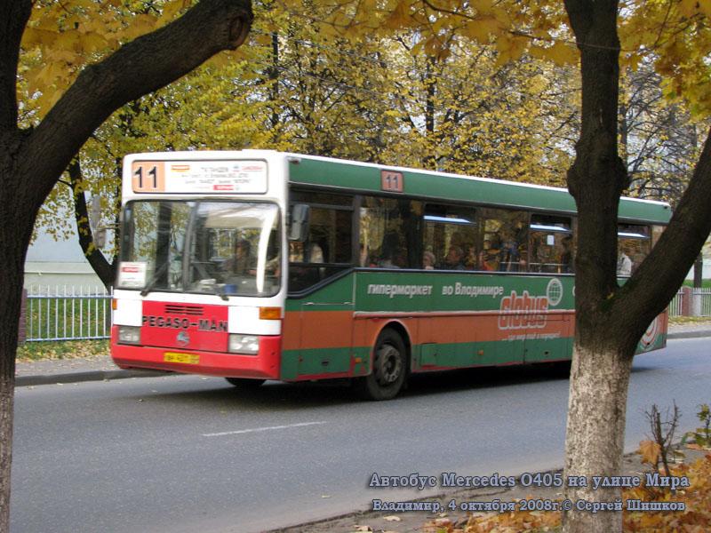 Владимир. Mercedes O405 вн431