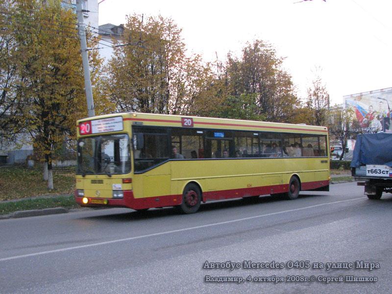 Владимир. Mercedes O405 вн471