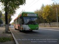 Владимир. MAN NL232 CNG вр835