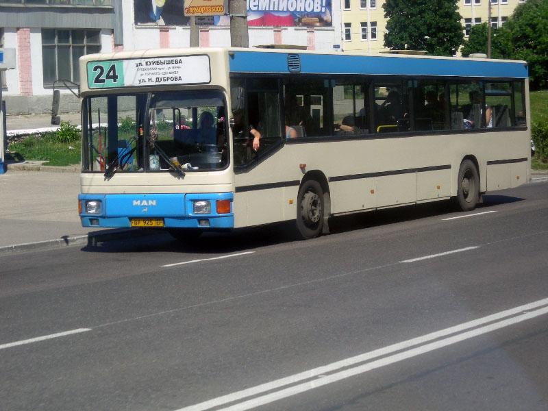 Владимир. MAN NL202 вр925