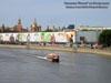 Москва. Пассажирский теплоход на подводных крыльях Ракета на Москве-реке