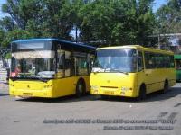 Донецк. ЛАЗ-А183 AH0114AA, Богдан А092 AH0016AA