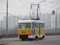 Москва. Tatra T3SU №3922