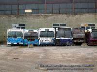 Ростов-на-Дону. Scania CN112CL н485кс, Scania CR112 т184ех, Scania CR112 т183ех, Ajokki City (Scania K112CL) т363ех