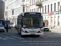 Санкт-Петербург. Scania OmniLink в423ау