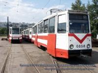 Санкт-Петербург. 71-605 (КТМ-5) №0805, 71-605 (КТМ-5) №0858