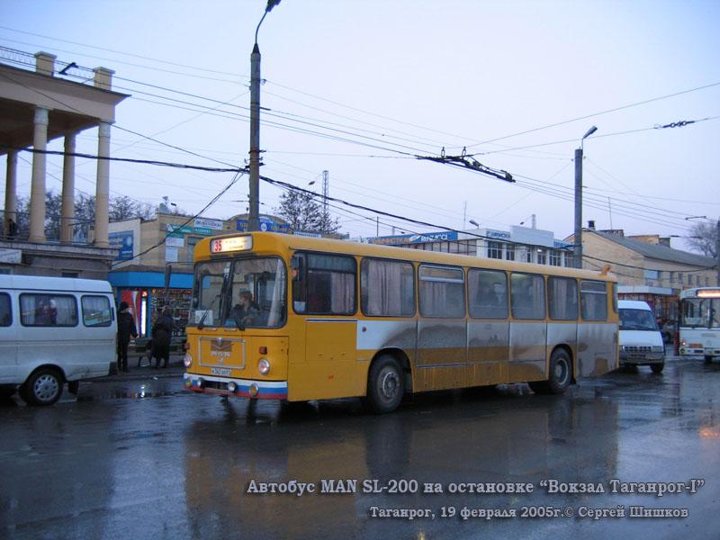 Таганрог. MAN SL200 а362вв