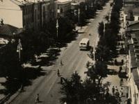 Таганрог. Автобус ЗиС-155 на улице Ленина