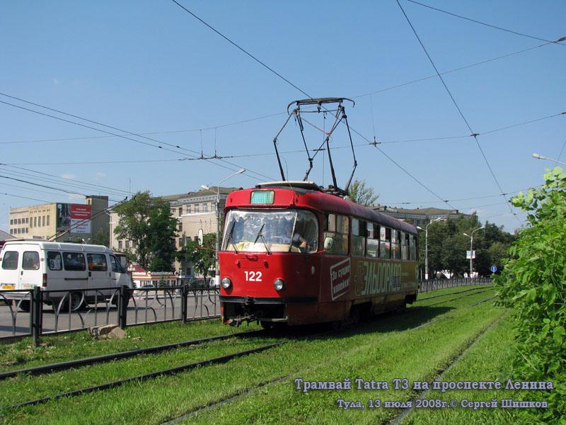Тула. Tatra T3SU №122