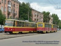 Тверь. Tatra T6B5 (Tatra T3M) №22, 71-605А (КТМ-5А) №253